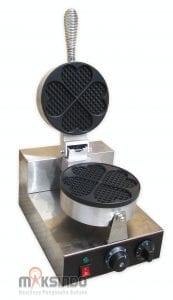 Mesin Heart Shaped Waffle Maker (MKS-HSW01)