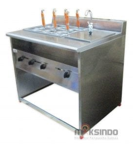 Gas Pasta Cooker With Bain Marie (6 Baskets)MKS-PCBM6