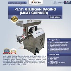 Mesin Giling Daging (Meat Grinder) MKS-MM80