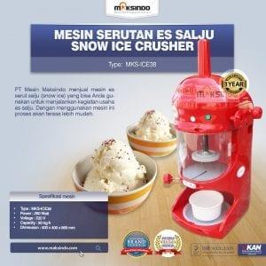Mesin Serutan Es Salju (Snow Ice Crusher) MKS-ICE38