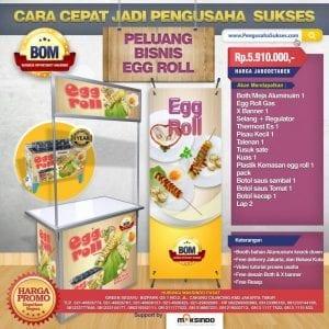 Paket Usaha Egg Roll Gas Progam BOM
