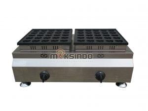 Mesin Gas Waffle Bentuk Hati 50 Lubang MKS-HSW50G