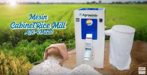 Video Mesin Cabinet Rice Mill AGR-RM220 Untuk Menggiling Gabah Menjadi Beras