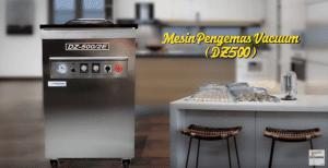 Video Mesin Pengemas Vacuum DZ500 Untuk Mengemas Produk Secara Vakum