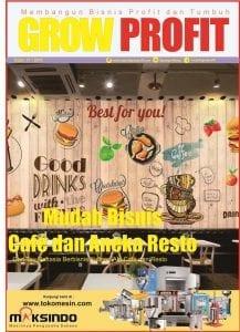 """Grow Profit Edisi 37- Mudah Bisnis Café dan Aneka Resto """"Cari Tau Rahasia Berbisnis Kuliner Ala Café dan Resto"""""""