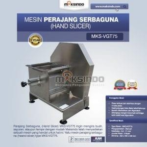 Perajang Serbaguna (Hand Slicer) MKS-VGT75