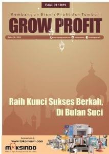Grow Profit Edisi 39- Raih Kunci Sukses Berkah,Di Bulan Suci