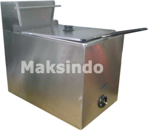 mesin gas fryer maksindo
