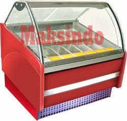 mesin gelato showcase 2 tokomesin