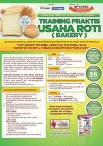 Training Bisnis Roti Bakery 7 Maret 2015 di Jakarta