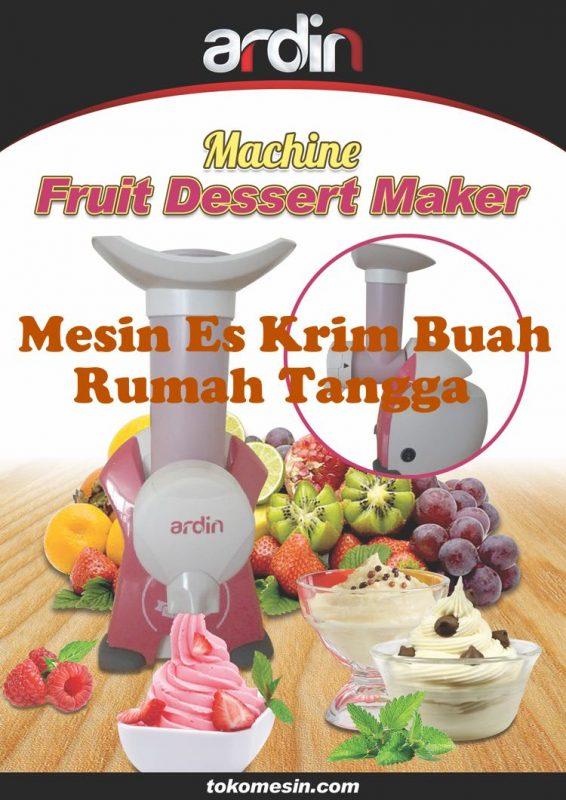 mesin es krim buah