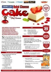 Training Usaha Aneka Cheese Cake 24 April 2016