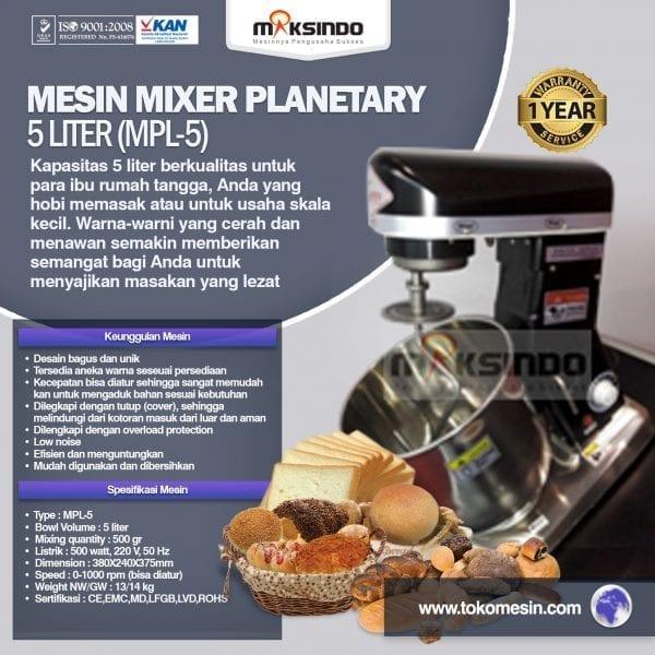 harga mesin mixer roti