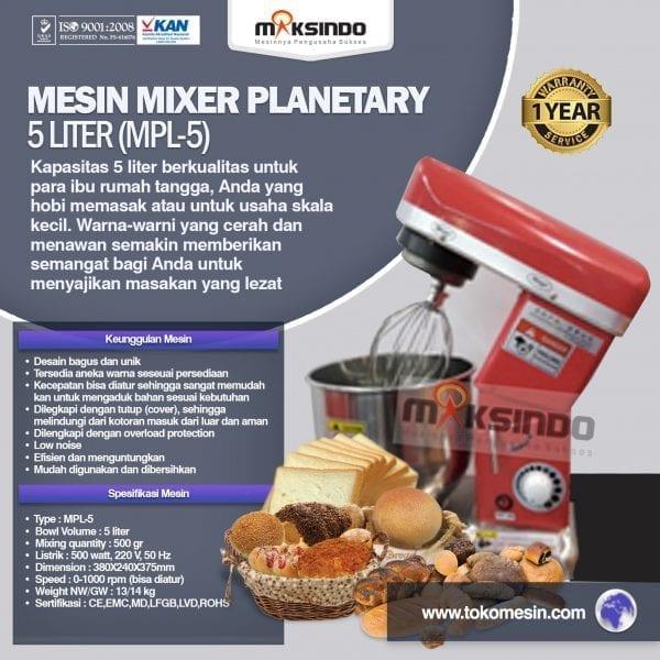jual mesin mixer roti