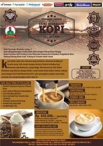 Training Usaha Seni Meracik Kopi, 23 April 2017