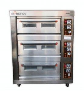 Mesin Oven Roti Gas 6 Loyang (MKS-RS36)