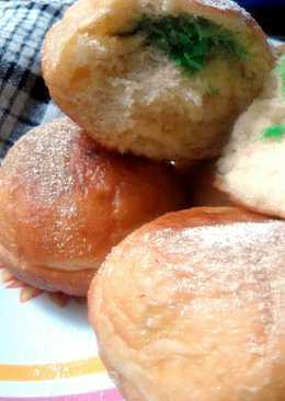Inilah Cara Membuat Roti Goreng Isi Kelapa Yang Enak