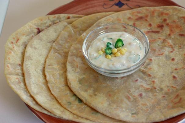 Beberapa Cara Membuat Roti Parata India Yang Mudah Dan Enak Toko
