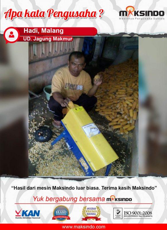 UD. Jagung Makmur : Mesin Pipil Jagung Luar Biasa