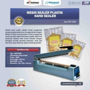 Mesin Hand Sealer MSP-200A