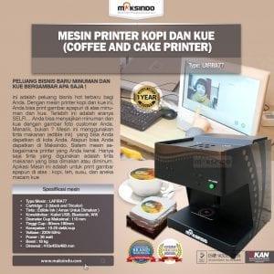Mesin Printer Kopi dan Kue (Coffee and Cake Printer)