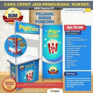 Paket Usaha Popcorn Program BOM