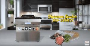 Video Mesin Vacuum Sealer MSP-DZ400/2T Untuk Mengemas Produk