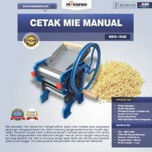Mesin Cetak Mie Manual (MKS-150B) Untuk Usaha