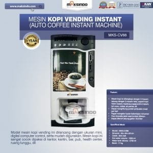 Mesin Kopi Vending (Auto Coffee Instant Machine)
