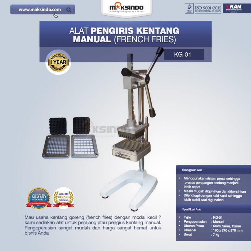 Alat Pengiris Kentang Manual (french fries)