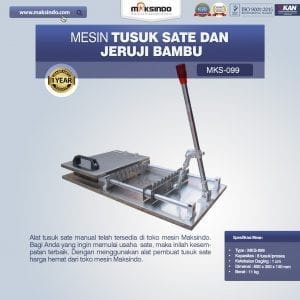 Alat Tusuk Sate Manual MKS-099