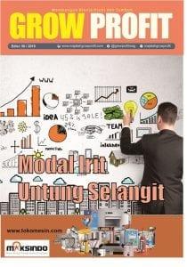 Majalah Grow Profit Edisi 50- Modal Irit Untung Selangit