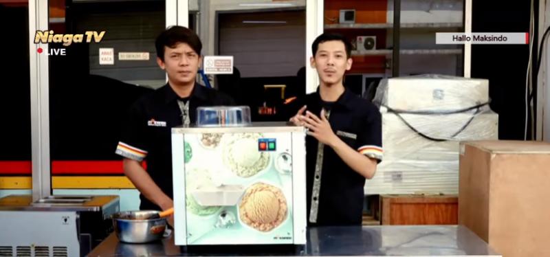 Video Cara Membuat Aneka Kreasi Hard Ice Cream Untuk Usaha Skala ...