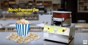 Video Cara Membuat Popcorn Dengan Menggunakan Mesin Maksindo