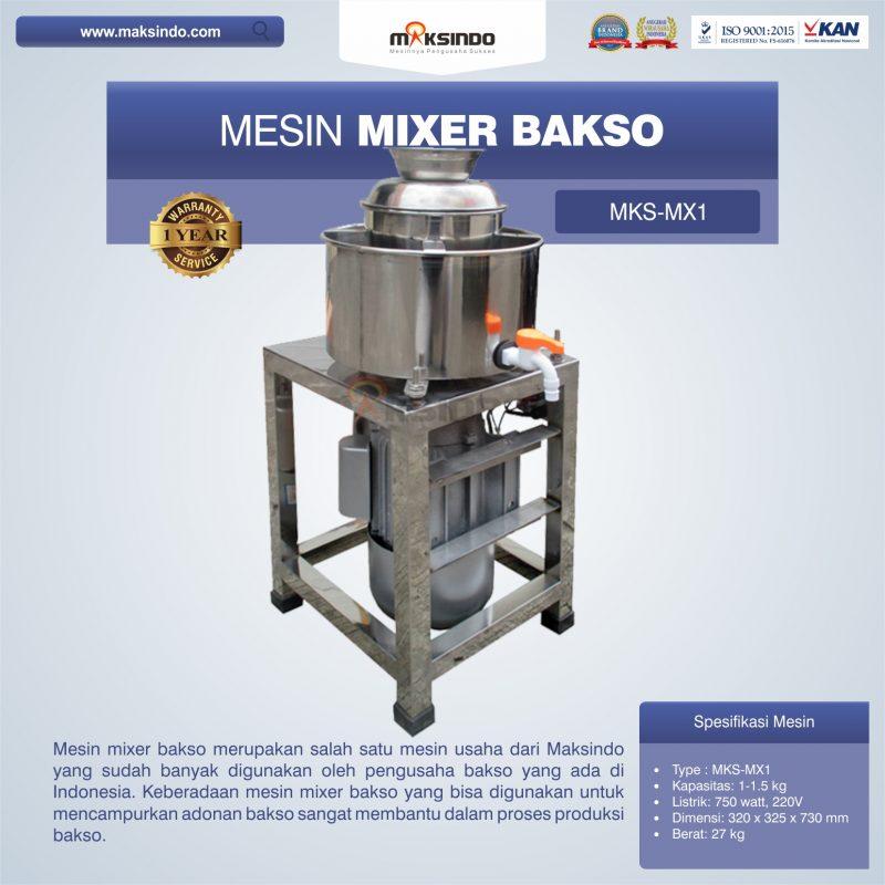 Jual Mesin Mixer Bakso MKS-MX1 di Surabaya - Toko Mesin ...
