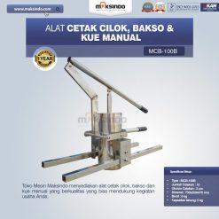 cetak bakso manual