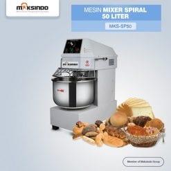 Mesin Mixer Roti Spiral