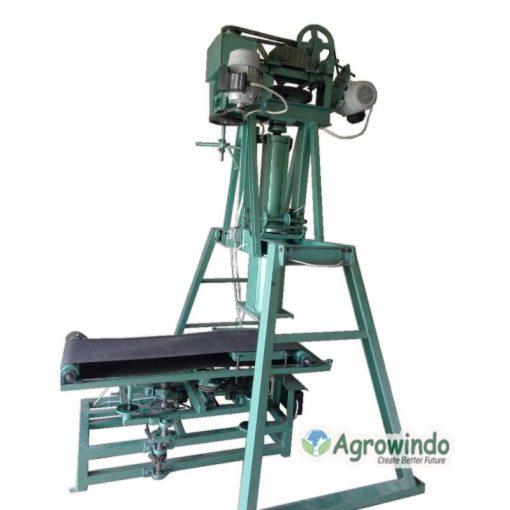 mesin pencetak kerupuk bulat