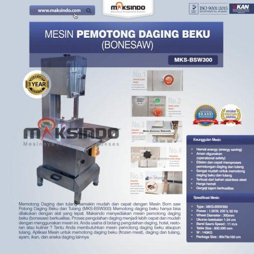 mesin bonesaw