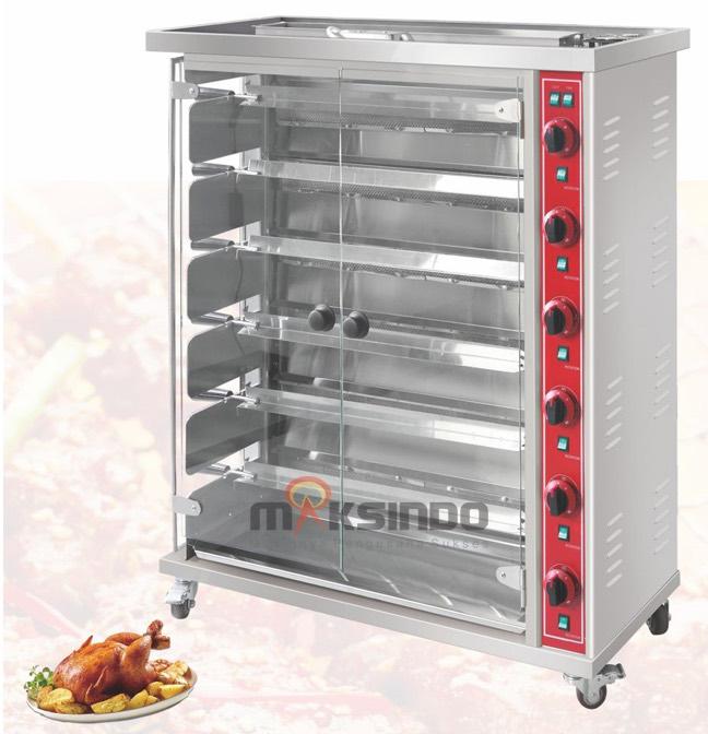 mesin pemanggang ayam otomatis
