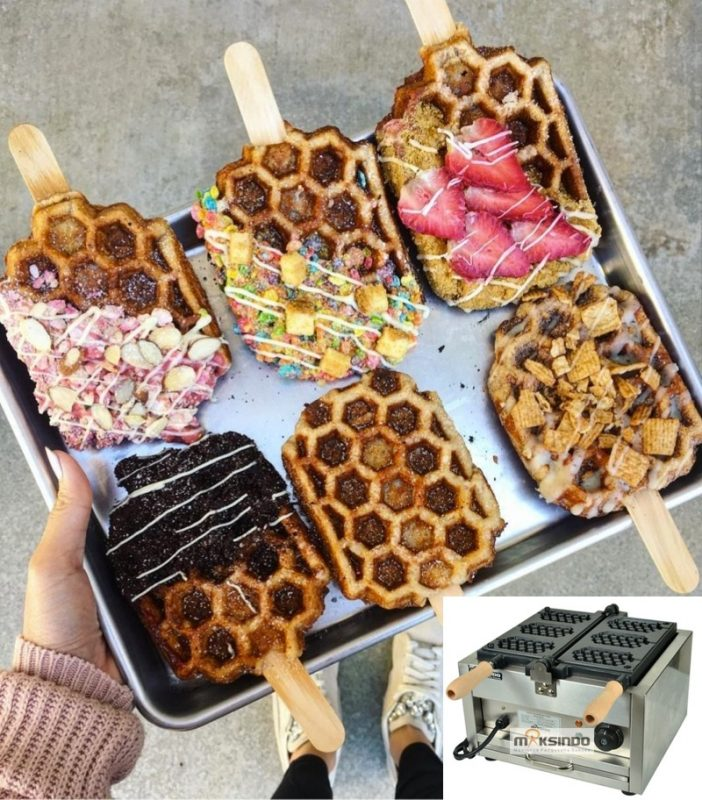 mesin waffle stik