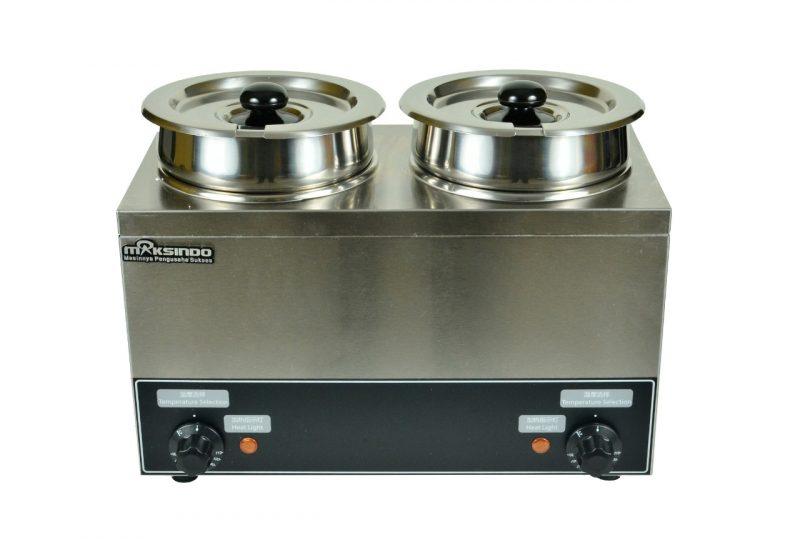 mesin bain marie penghangat makanan