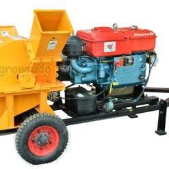 mesin pencacah kayu crusher