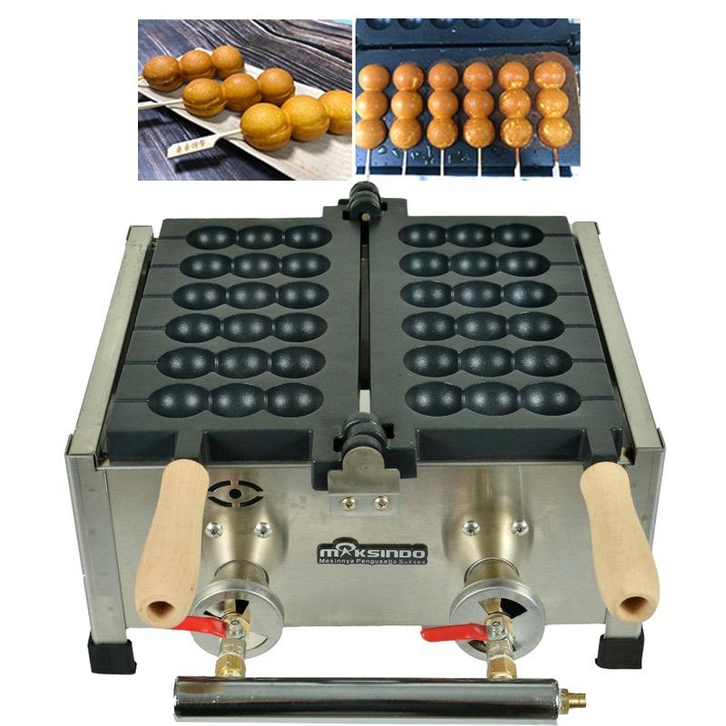 mesin waffle sate telur